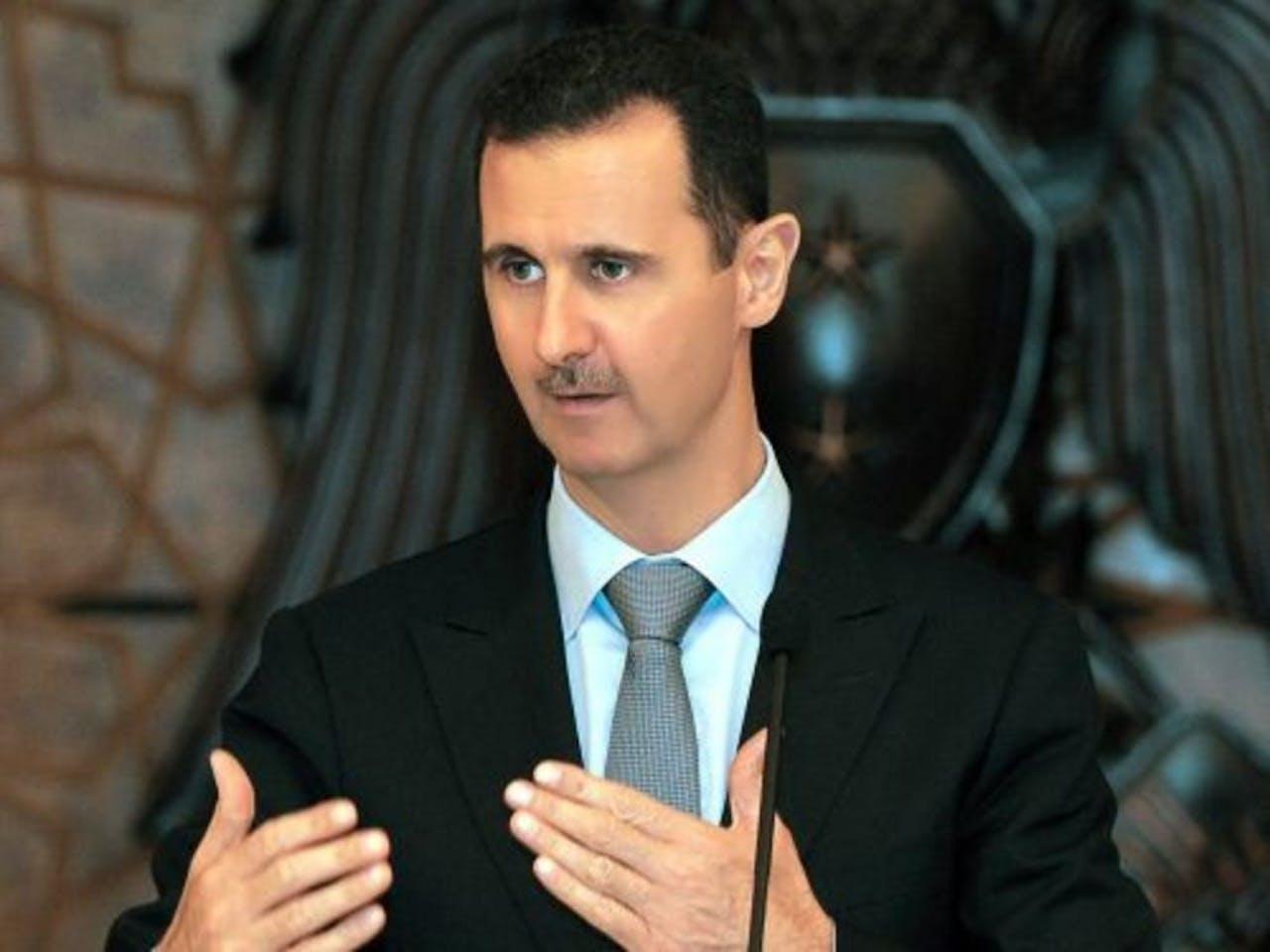 De Syrische president Bashar al-Assad. EPA