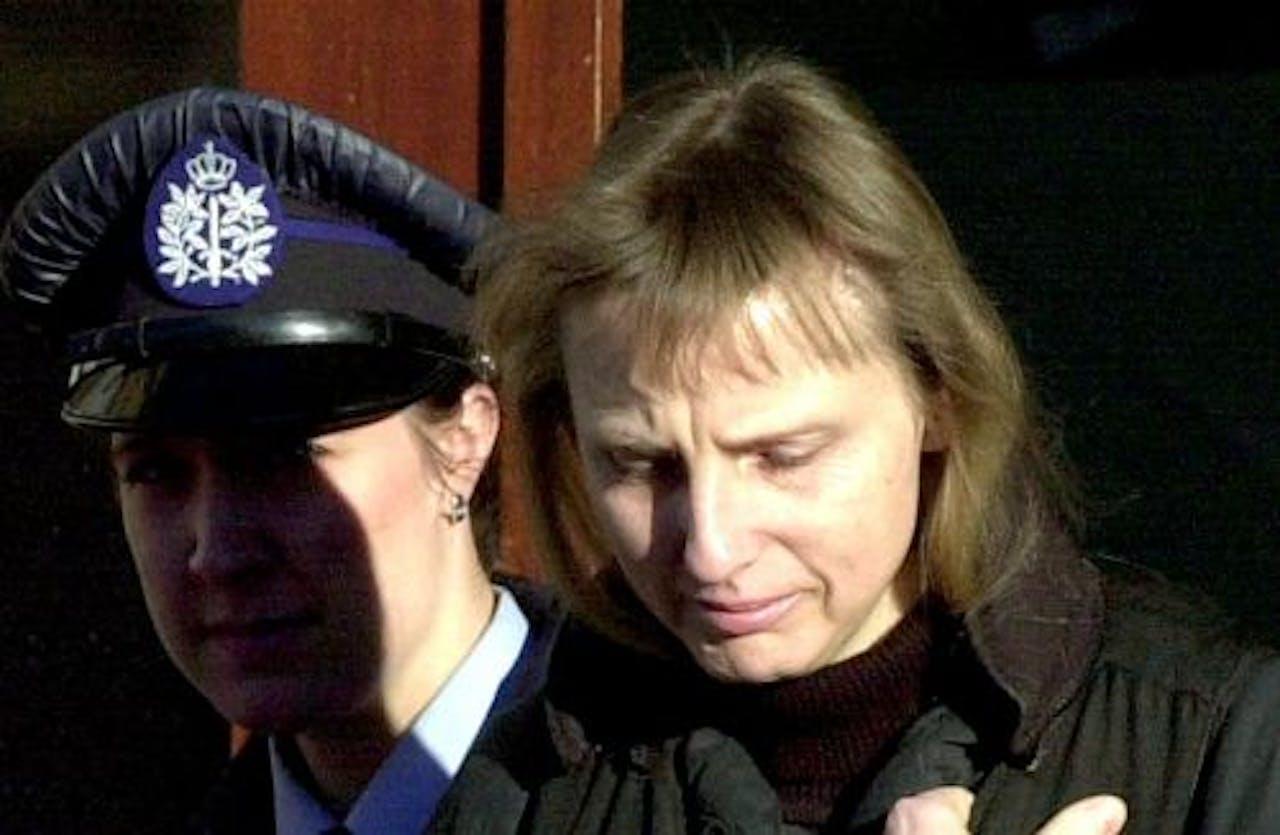 Michèle Martin (archieffoto, februari 2002). EPA