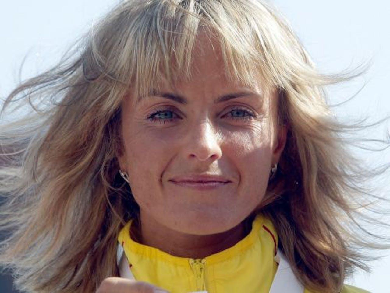 De Litouwse atlete Zivile Balciunaite. EPA