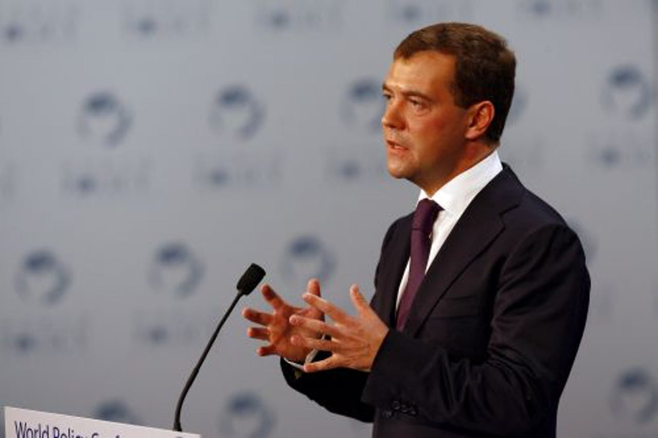Dmitri Medvedev. EPA