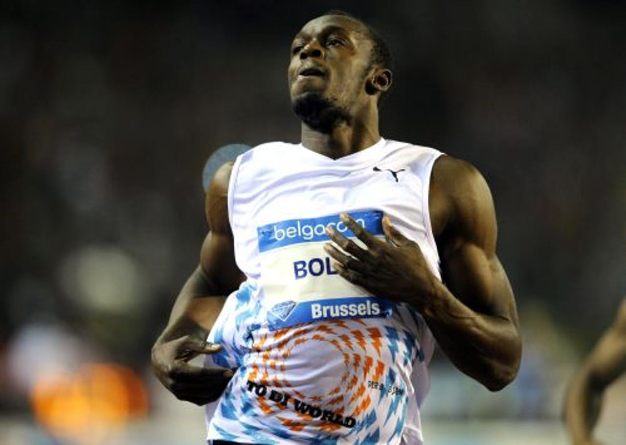 De Jamaicaanse sprinter Usain Bolt. EPA