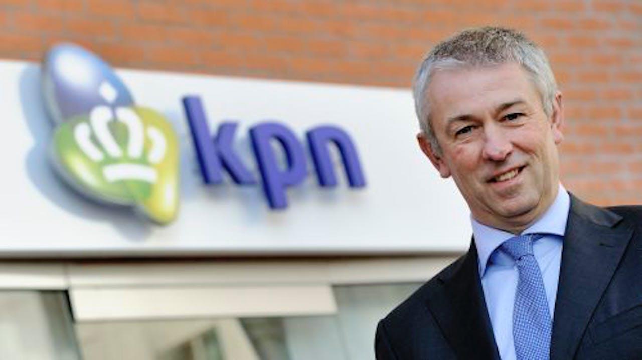 KPN-topman Eelco Blok. ANP
