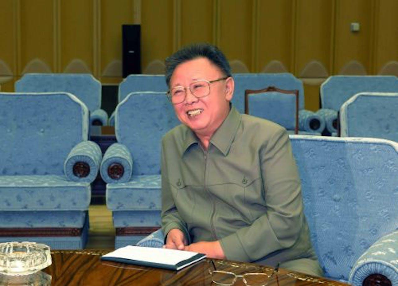 De Noord-Koreaanse leider Kim Jong-il. EPA