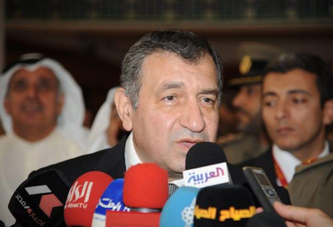 Premier Essam Sharaf. EPA