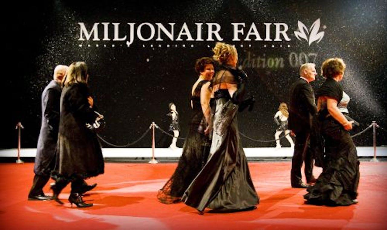 De jaarlijkse Miljonair Fair in Amsterdam. ANP