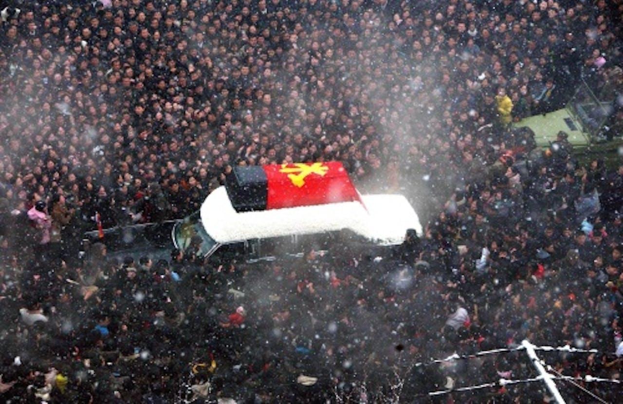 De uitvaart van Kim Jong-il. EPA