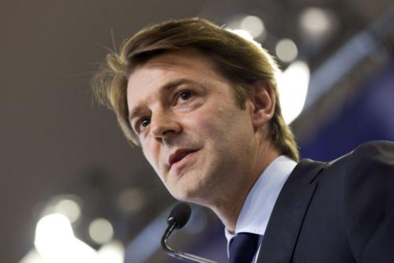 De Franse minister van Financiën Francois Baroin. EPA