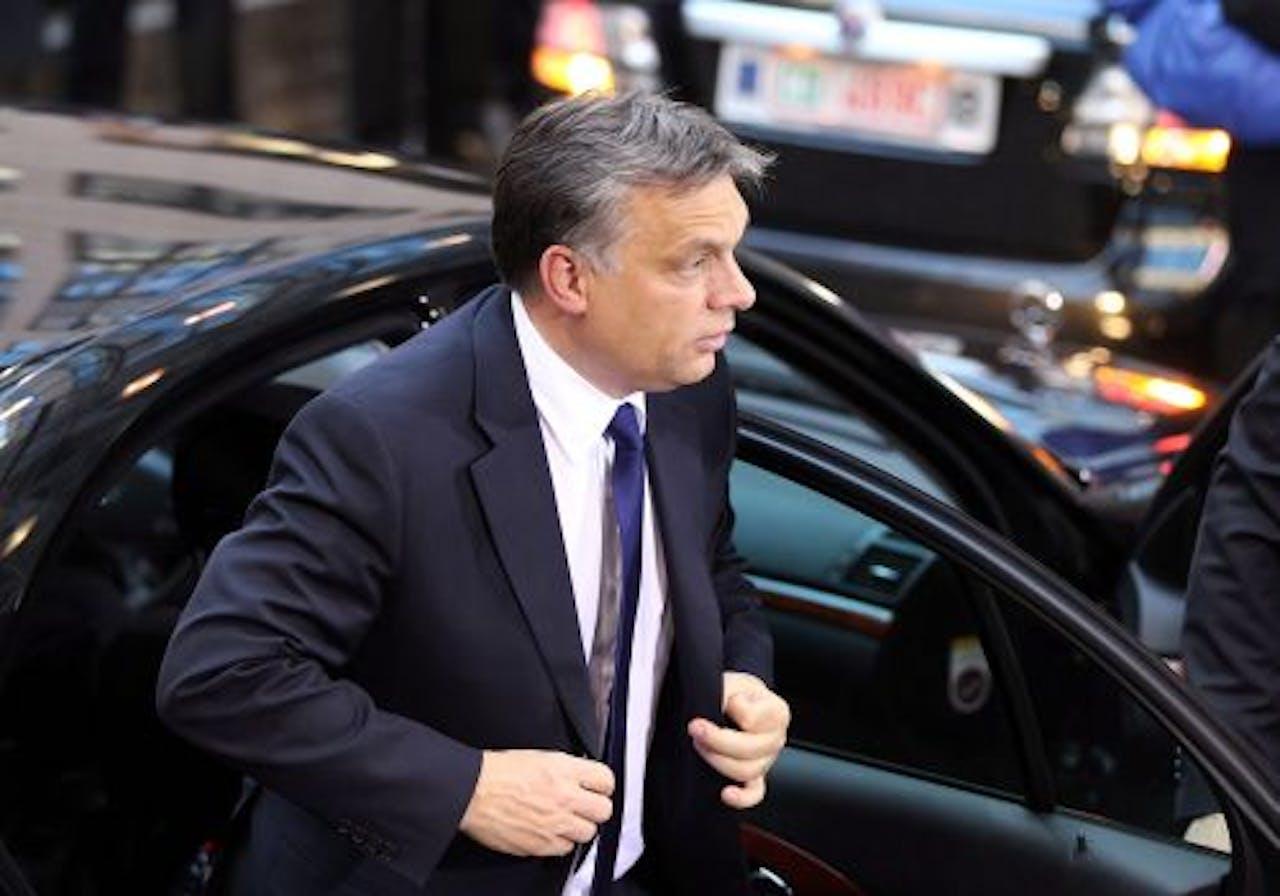 Hongaarse premier Viktor Orban. EPA