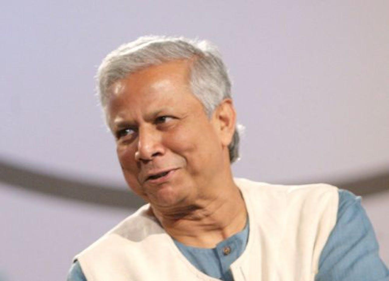 Muhammed Yunus in 2007. EPA