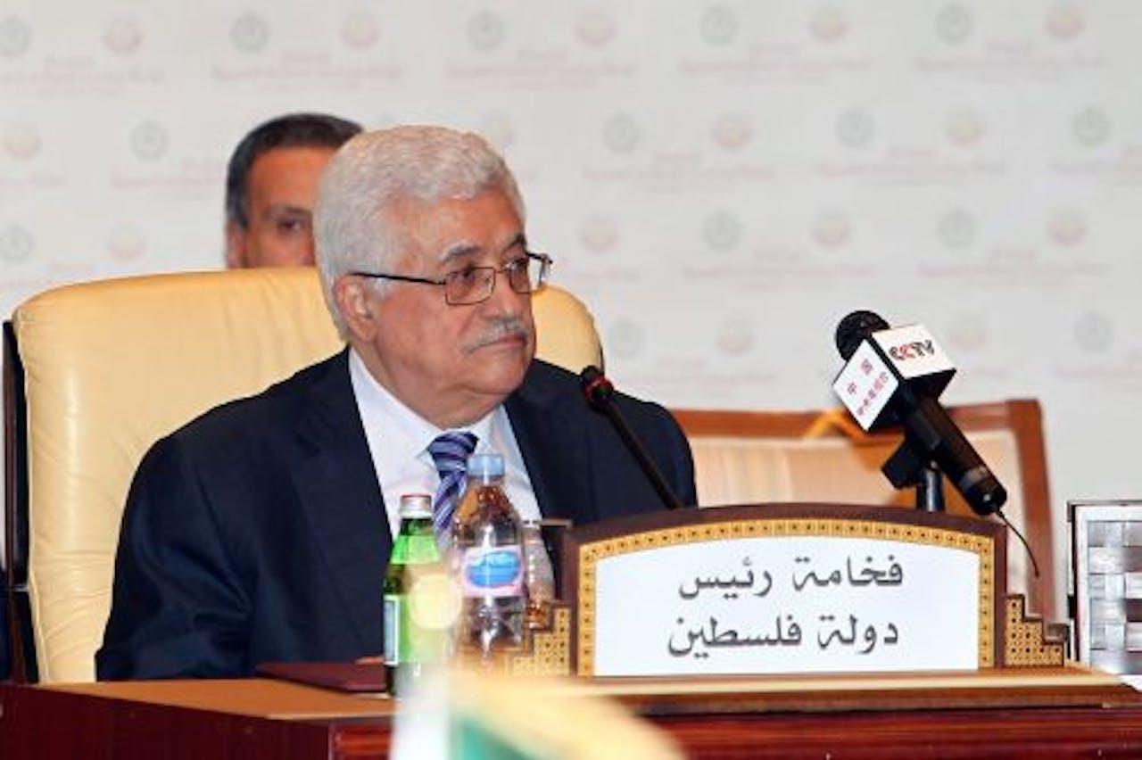 De Palestijnse president Mahmud Abbas. EPA