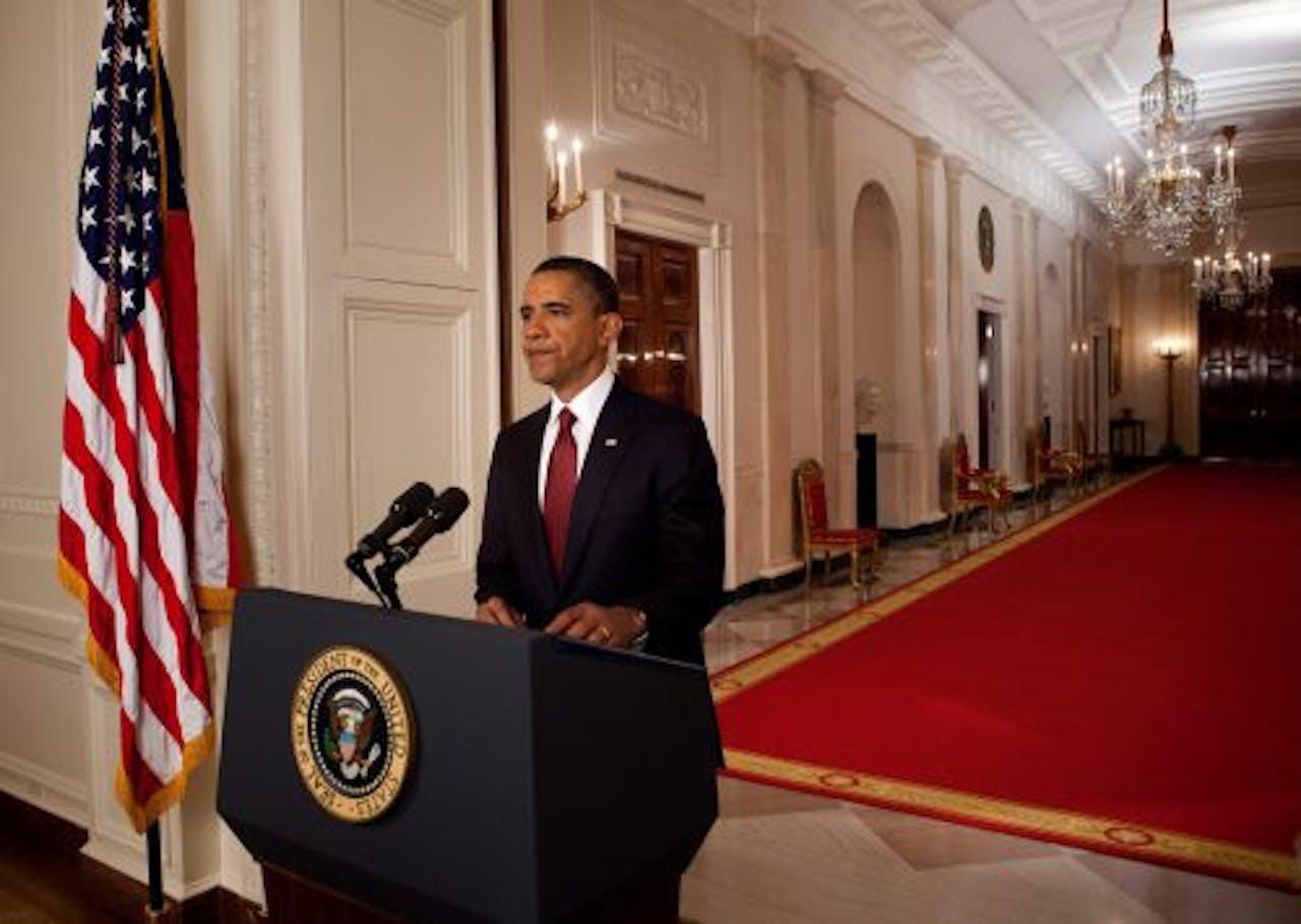 De Amerikaanse president Barack Obama. EPA