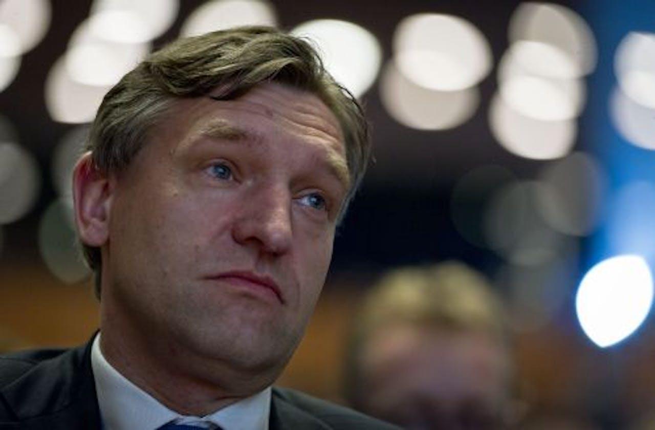 CDA-fractievoorzitter Sybrand van Haersma Buma. ANP