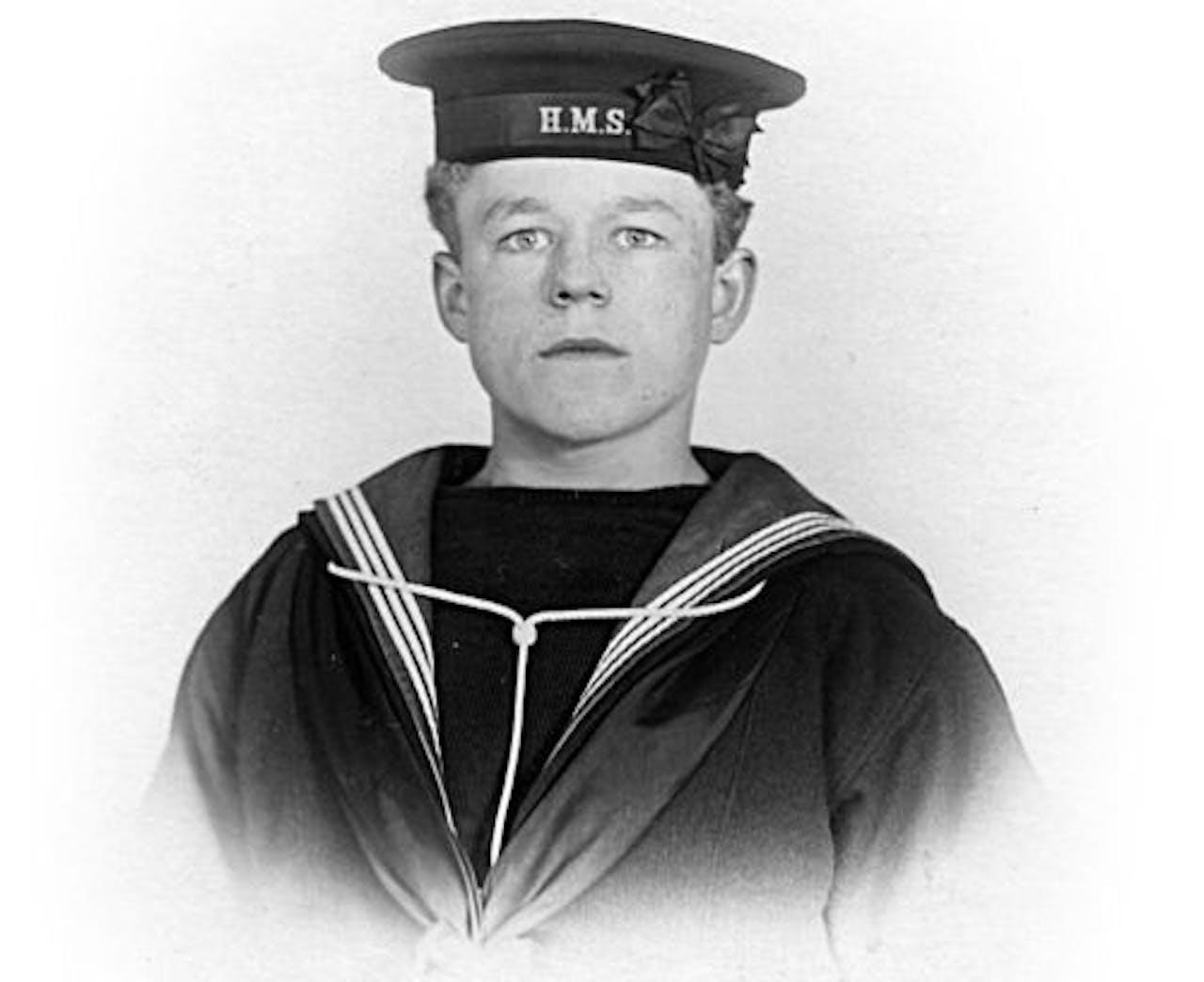 Claude Choules op 17-jarige leeftijd. EPA