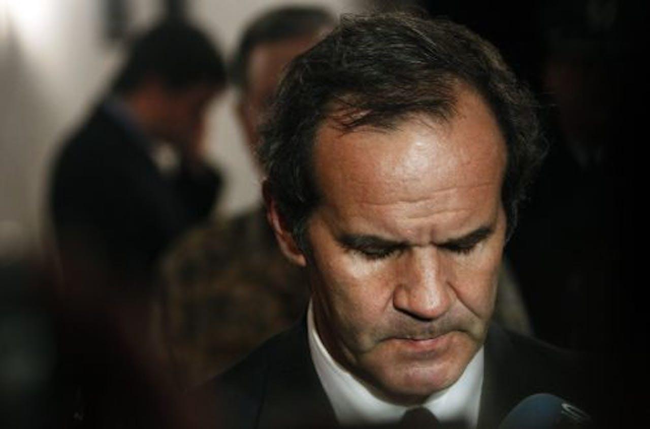 Minister van Defensie Andres Allamand. EPA