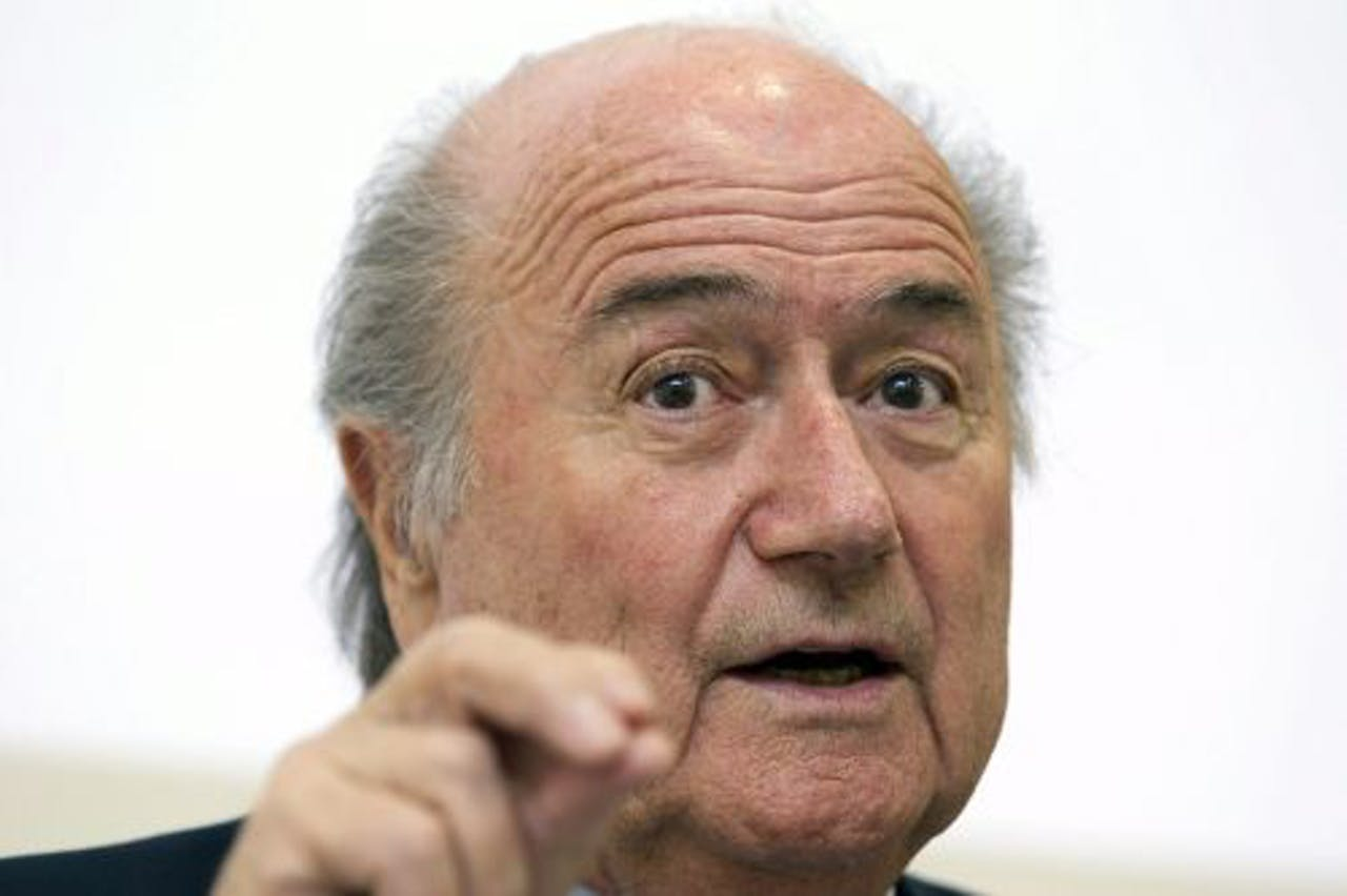 FIFA-voorzitter Joseph Blatter. EPA