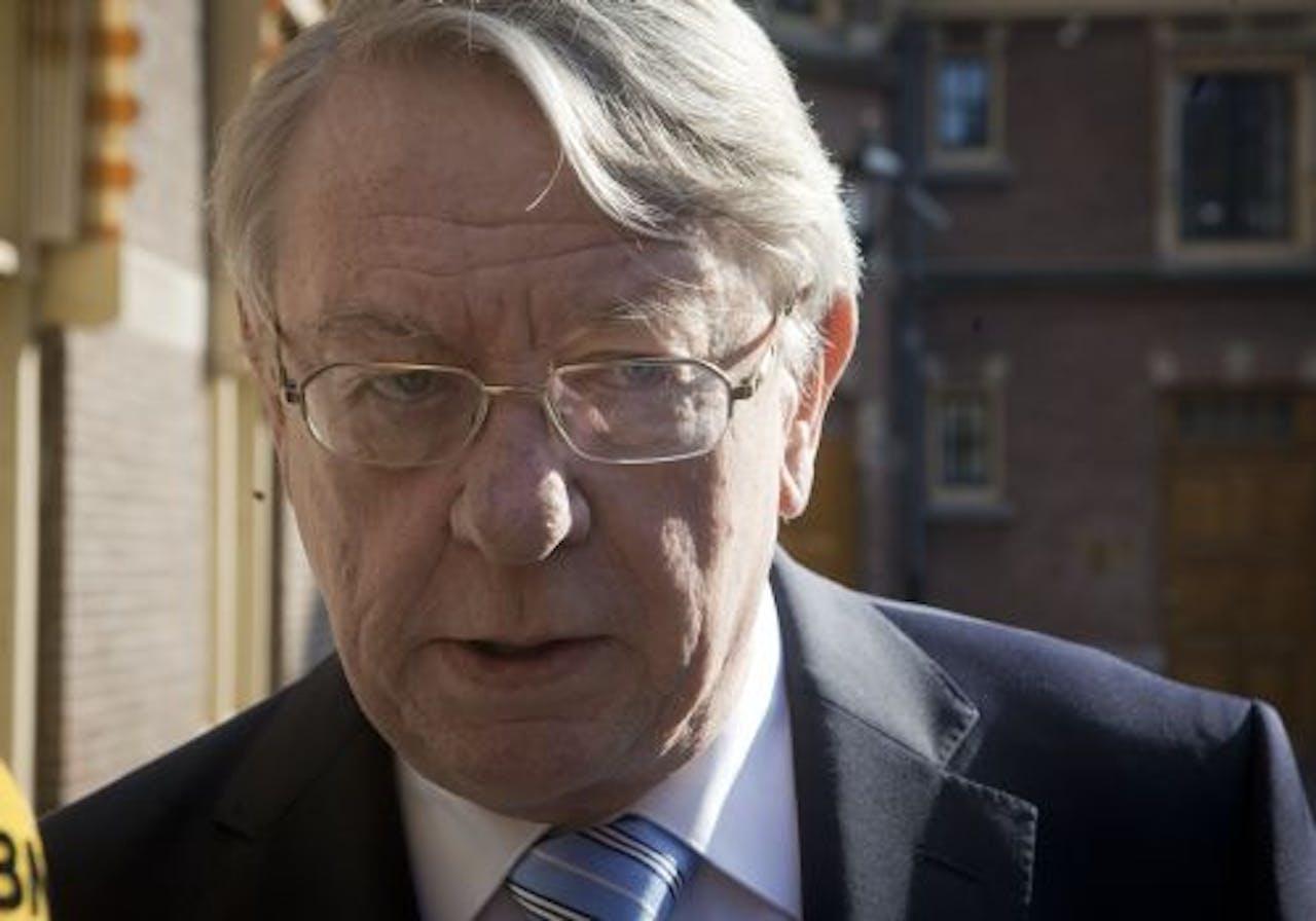 Minister Hans Hillen van Defensie. ANP