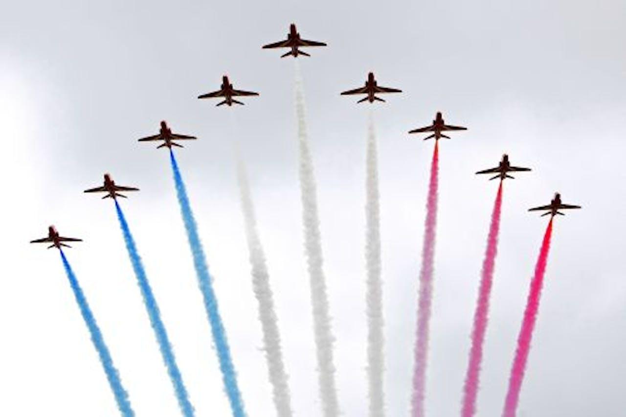 De Luchtmachtdagen in juni veroorzaakten veel geluidsoverlast. ANP