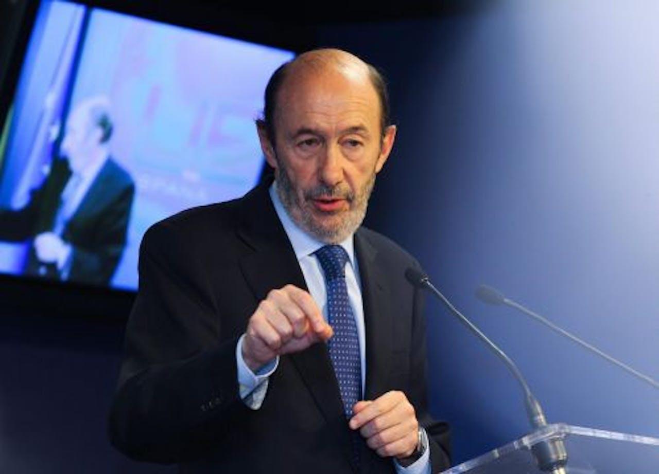 Alfredo Pérez Rubalcaba. EPA