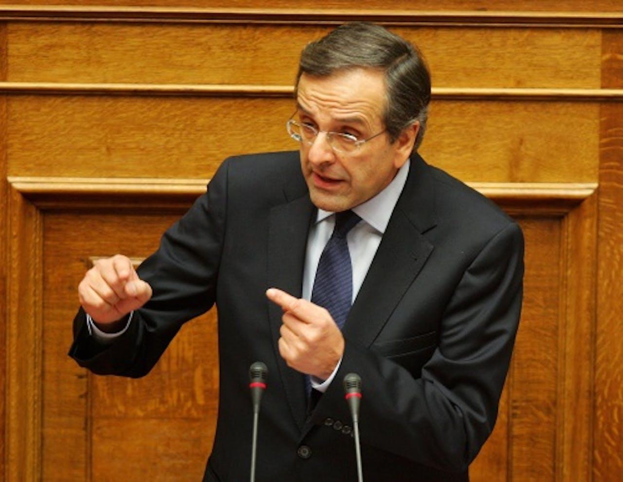 Antonis Samaras. EPA