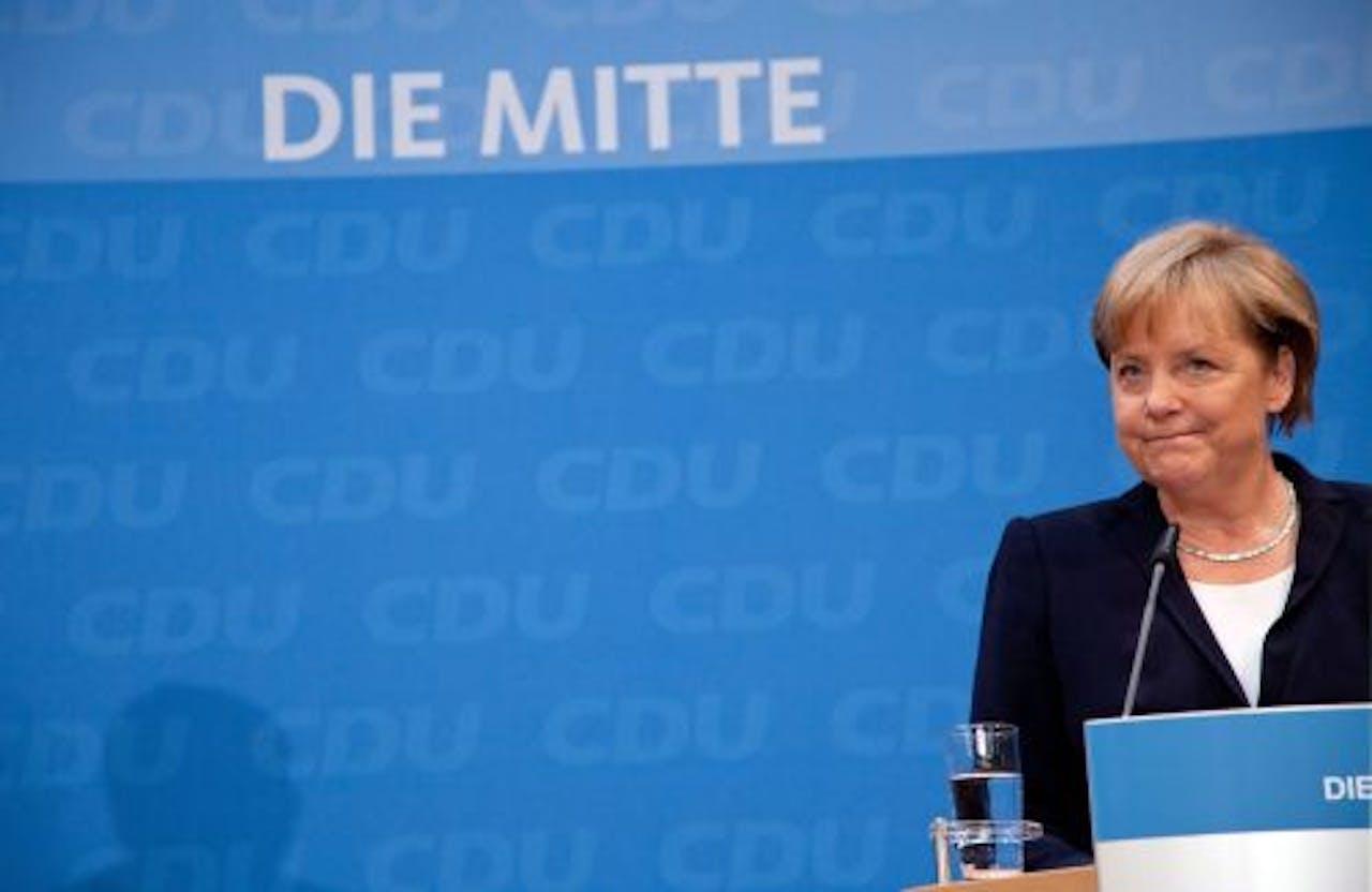 De Duitse bondkanselier Angela Merkel. EPA