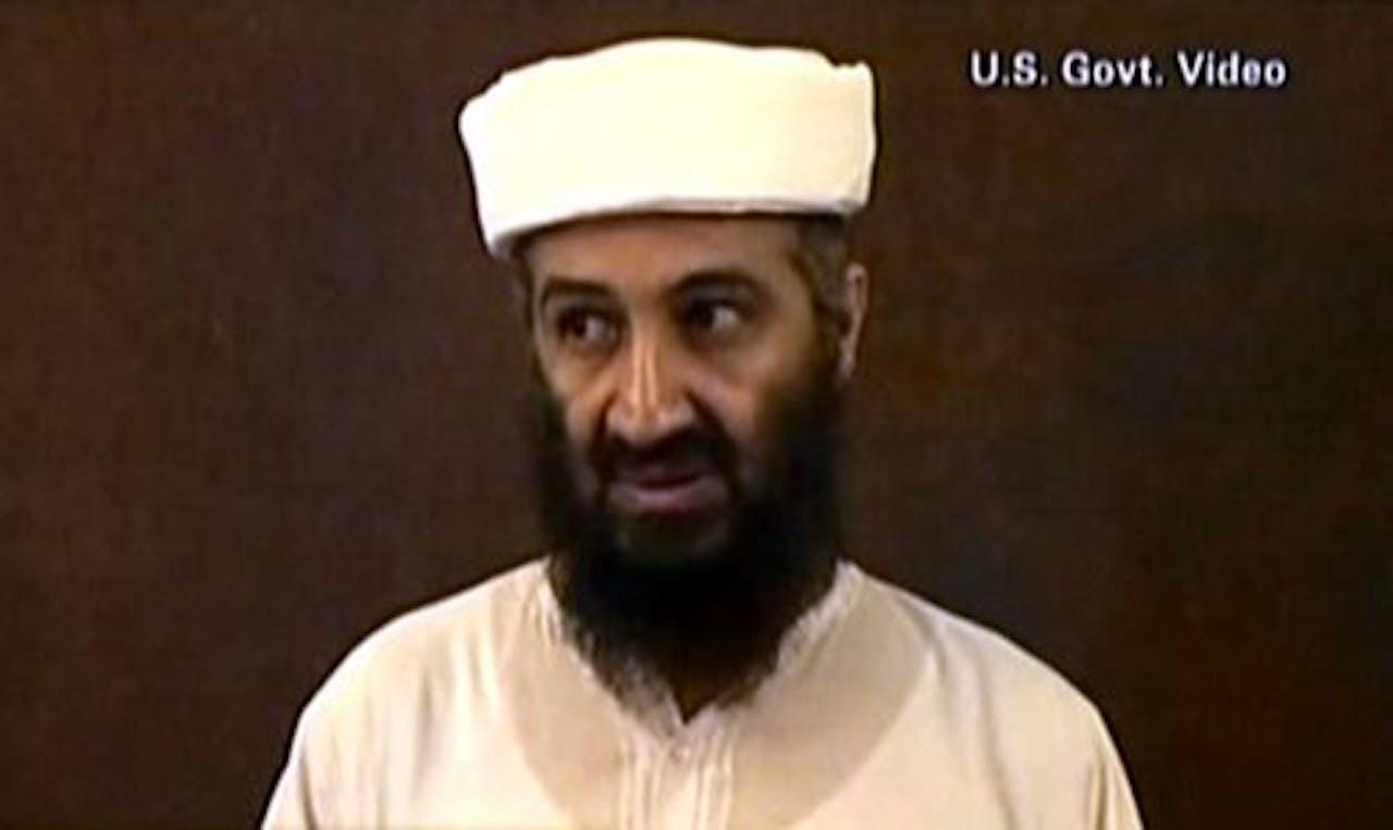 Terroristenleider Osama bin Laden. AFP