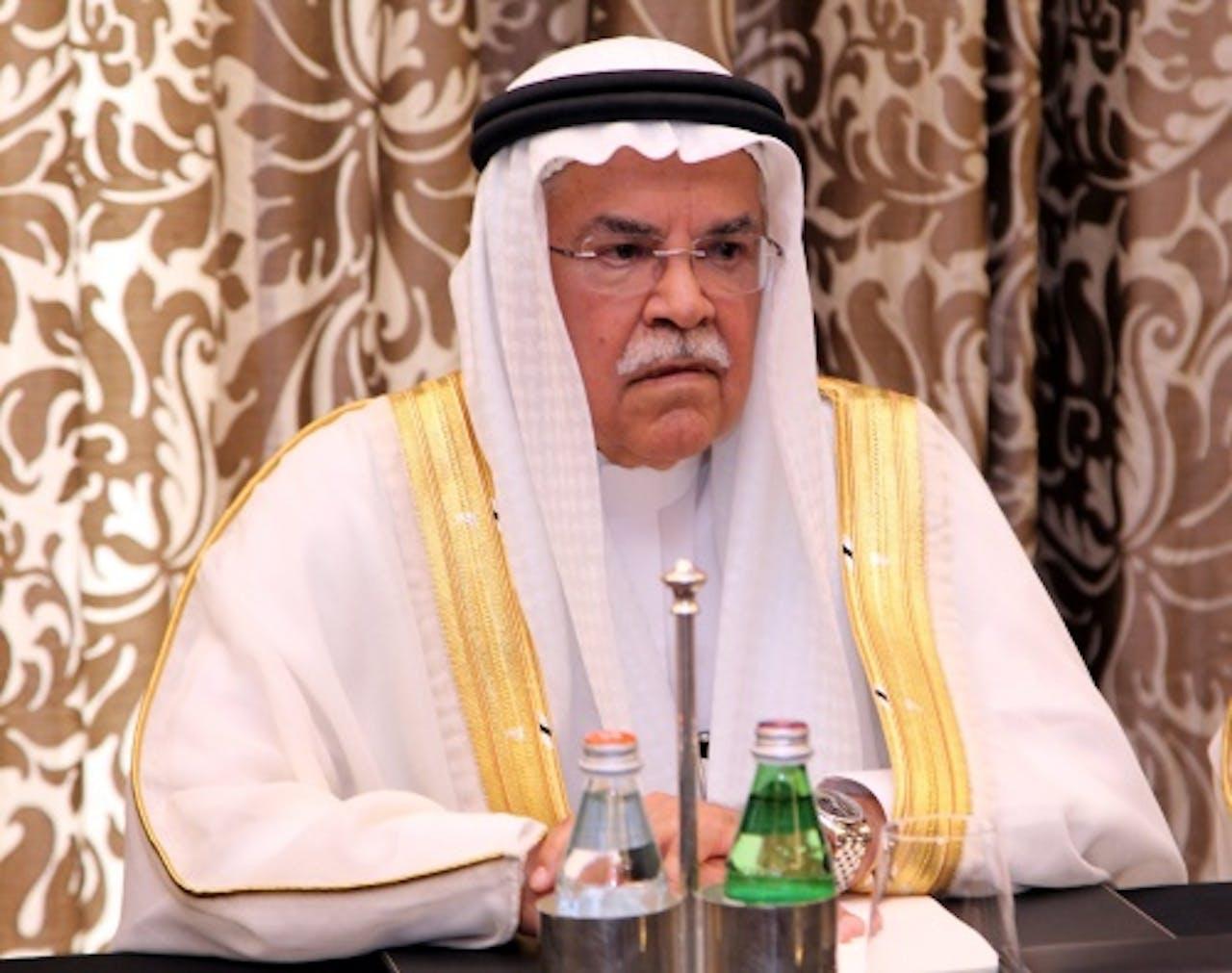 Voormalig minister Ali al-Naimi. EPA