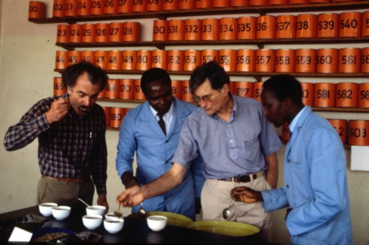 Alfred Peet in Kenia.