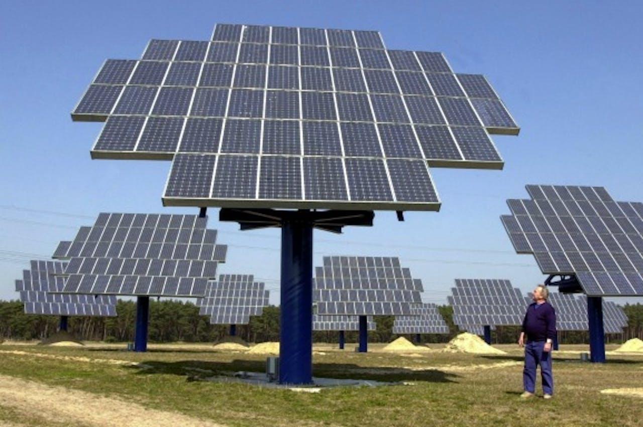 Geen elektriciteitscentrale maar een zonnepark levert in de toekomst onze energie.