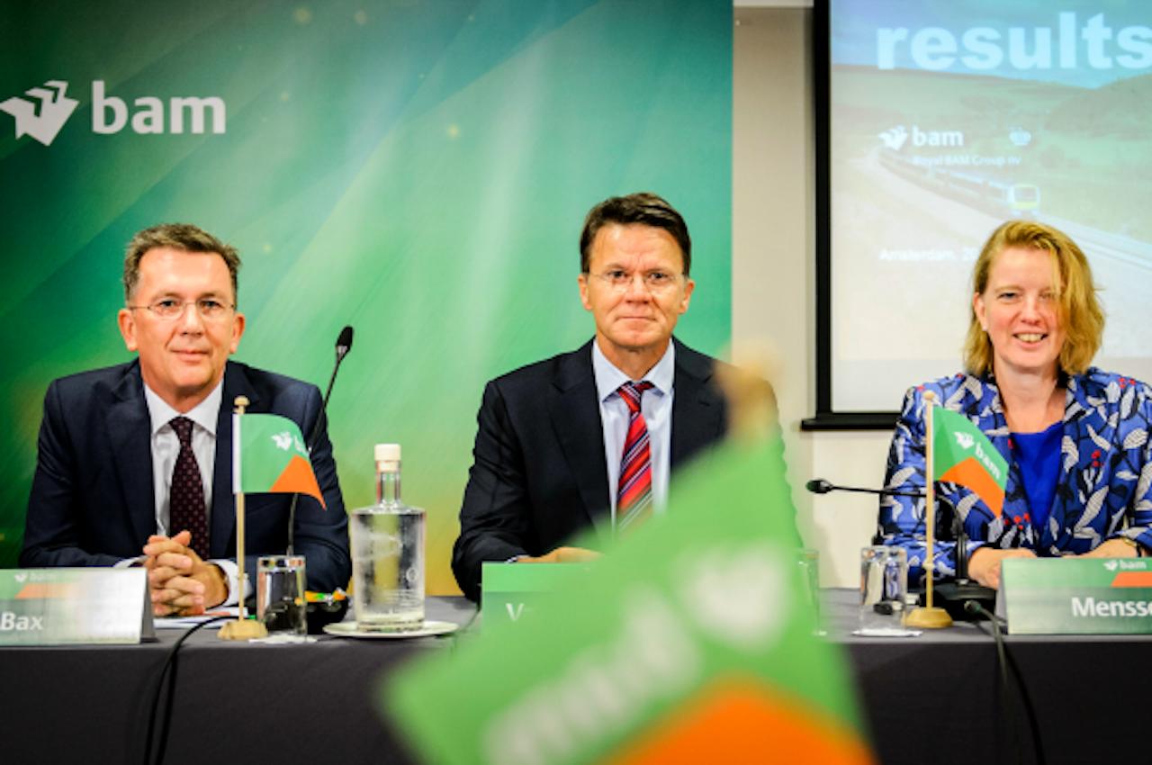 Erik Bax (COO), Rob van Wingerden (CEO) en Thessa Menssen (CFO). Foto: ANP