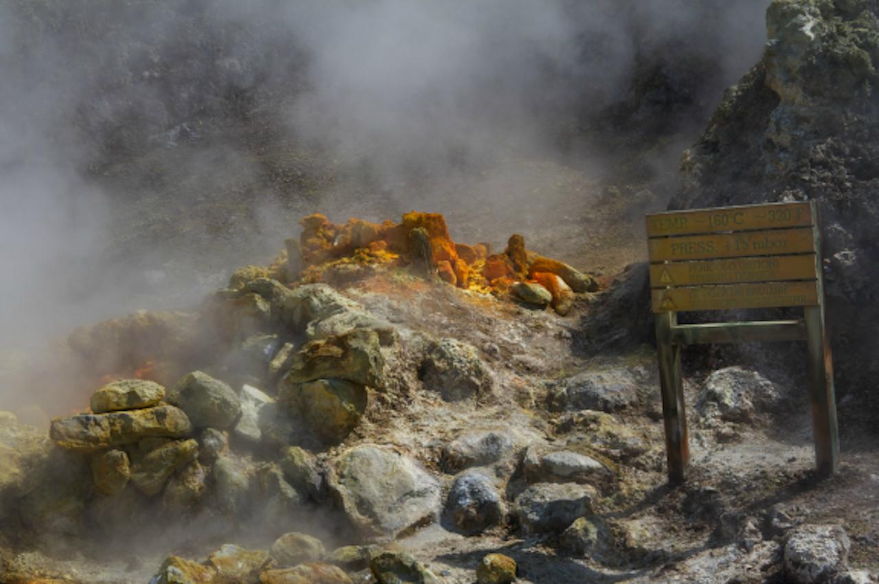 Solfatara vulkaan bij Napels (Foto: DamienOz via Flickr)