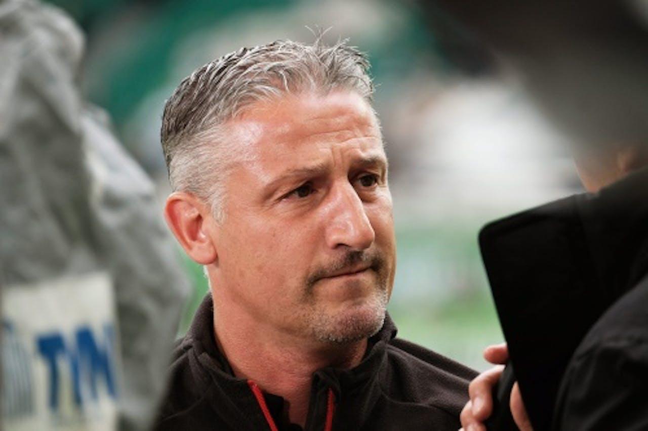 Juergen Kramny, coach van VfB Stuttgart. EPA