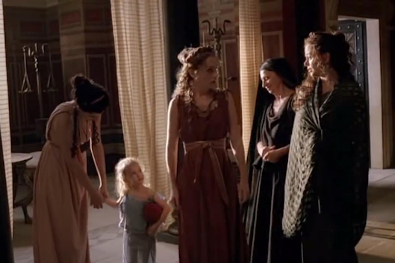 Scène uit de HBO-serie Rome