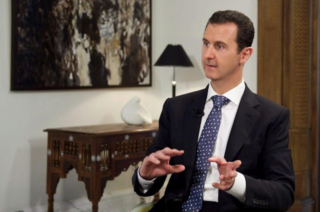 President Assad van Syrië. Foto ANP