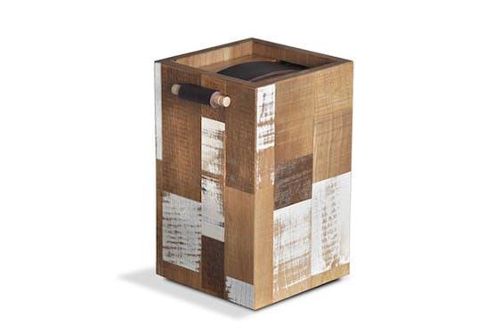 Handgemaakte urn van Marc de Bie en Stijn Smetsers. Foto: craftandnature.com