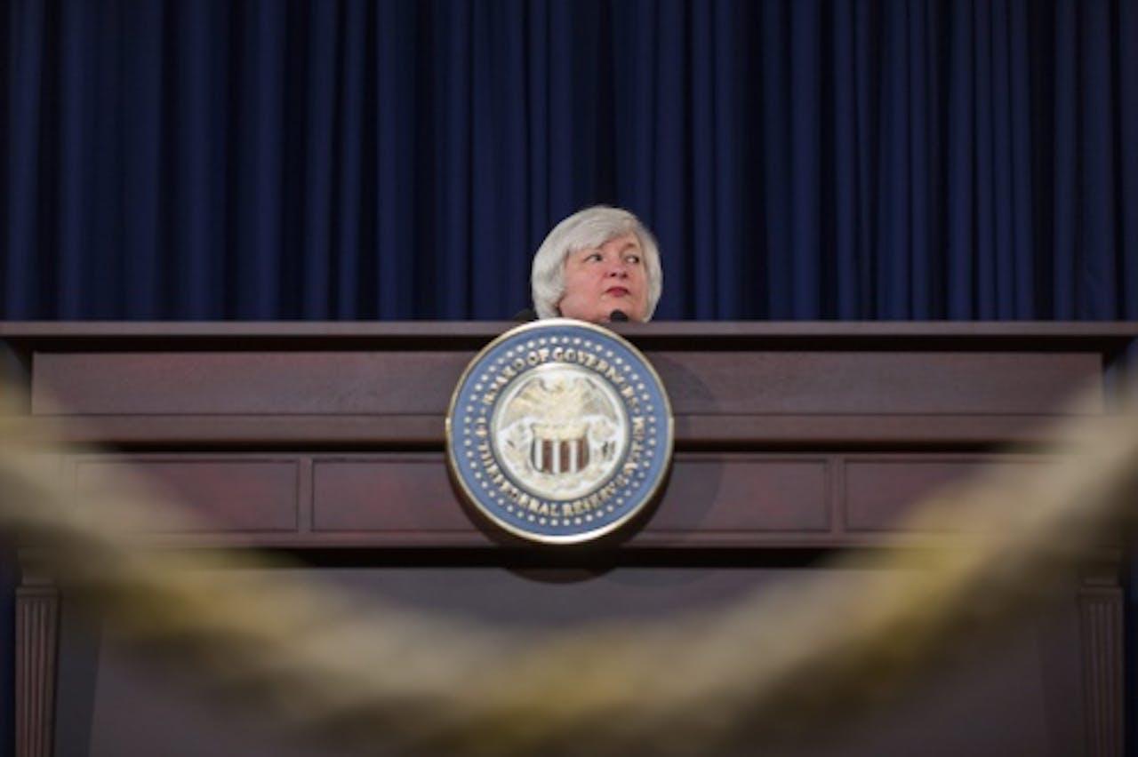 Fed-president Janet Yellen. EPA