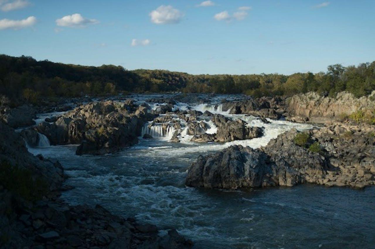 Pontomac rivier waar opgravingen zijn gedaan. Foto: ANP/EPA