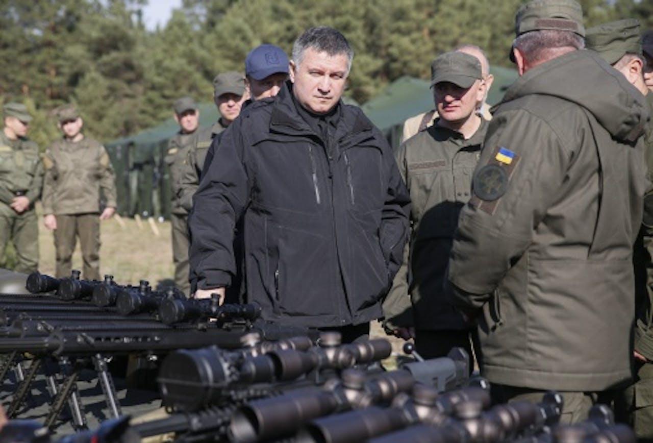 Arsen Avakov (EPA)