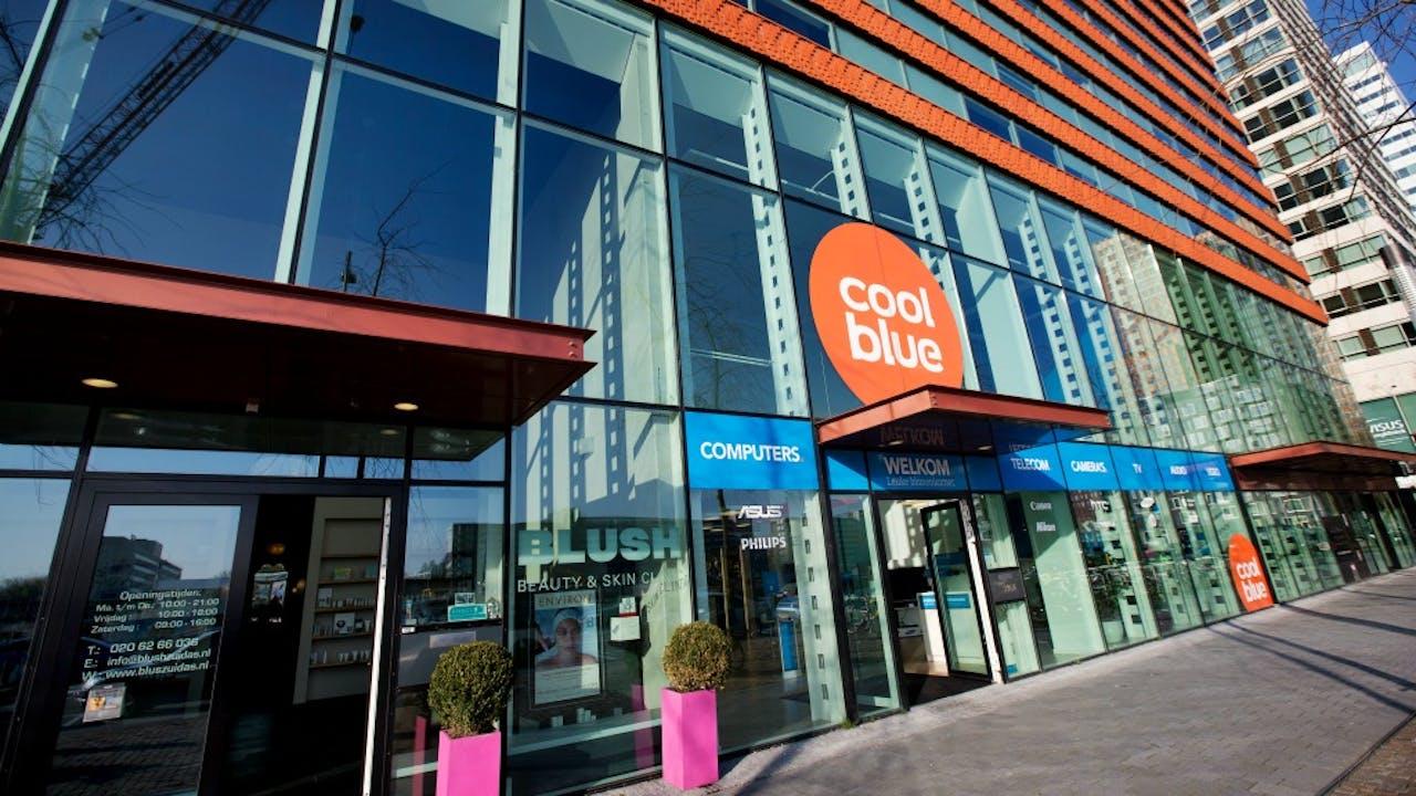 Een Coolblue-winkel aan de Amsterdamse Zuidas. Foto: ANP