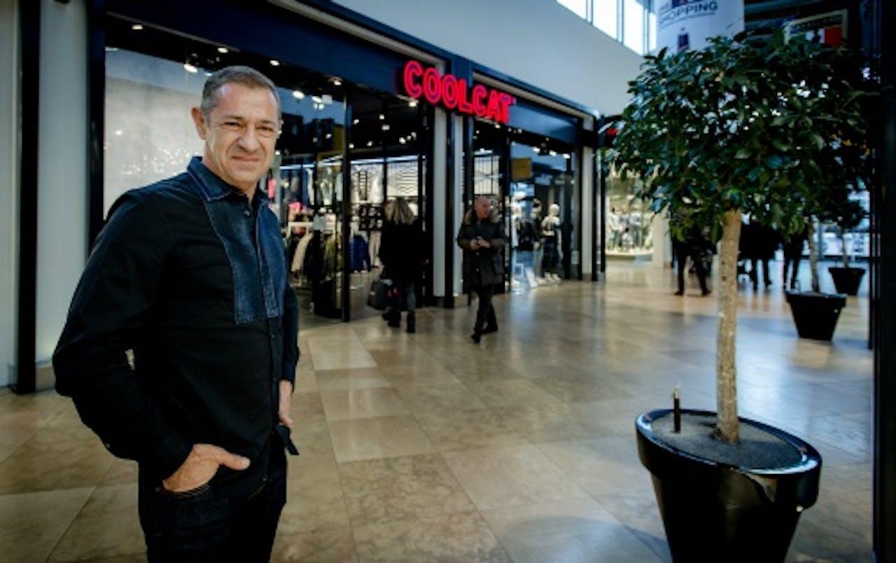 Roland Kahn bezit meerdere retailmerken waaronder Coolcat. Foto:ANP