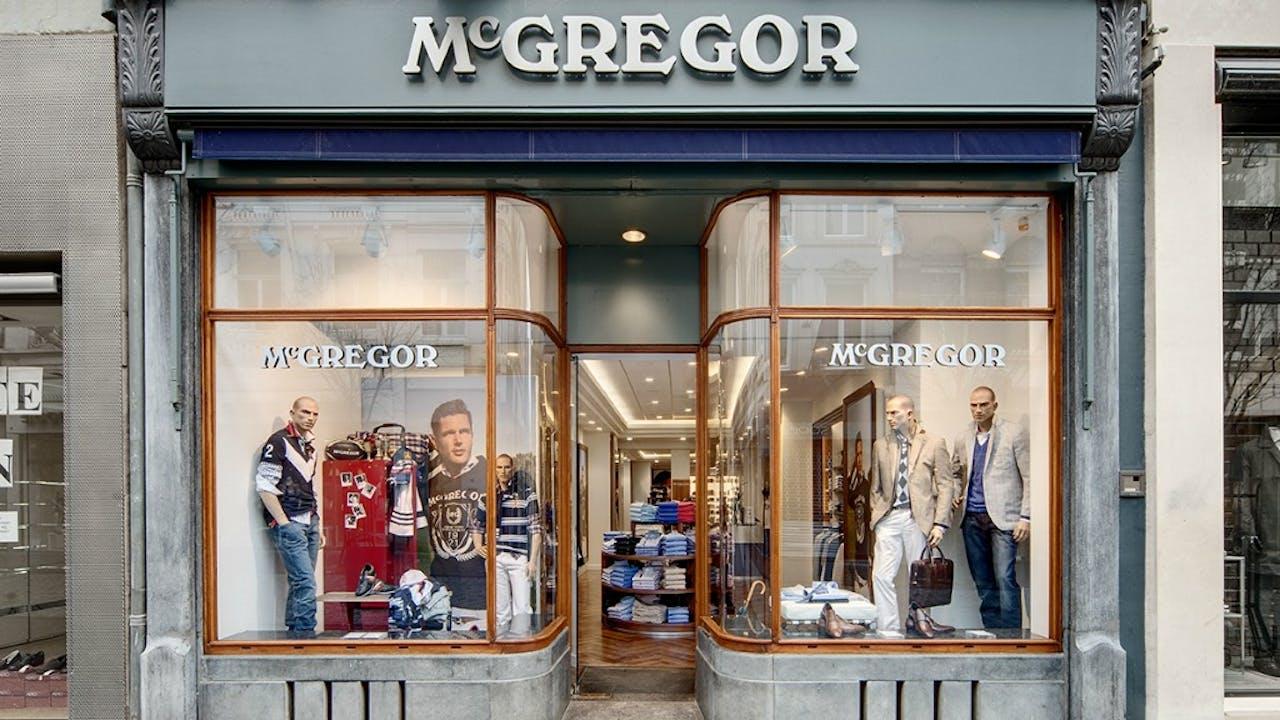 McGregor winkel in Maastricht.