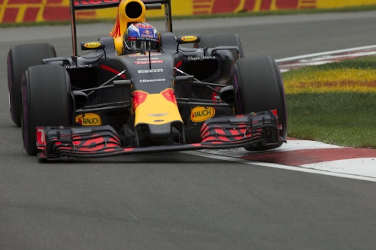 Verstappen is vierde geworden in de Grand Prix