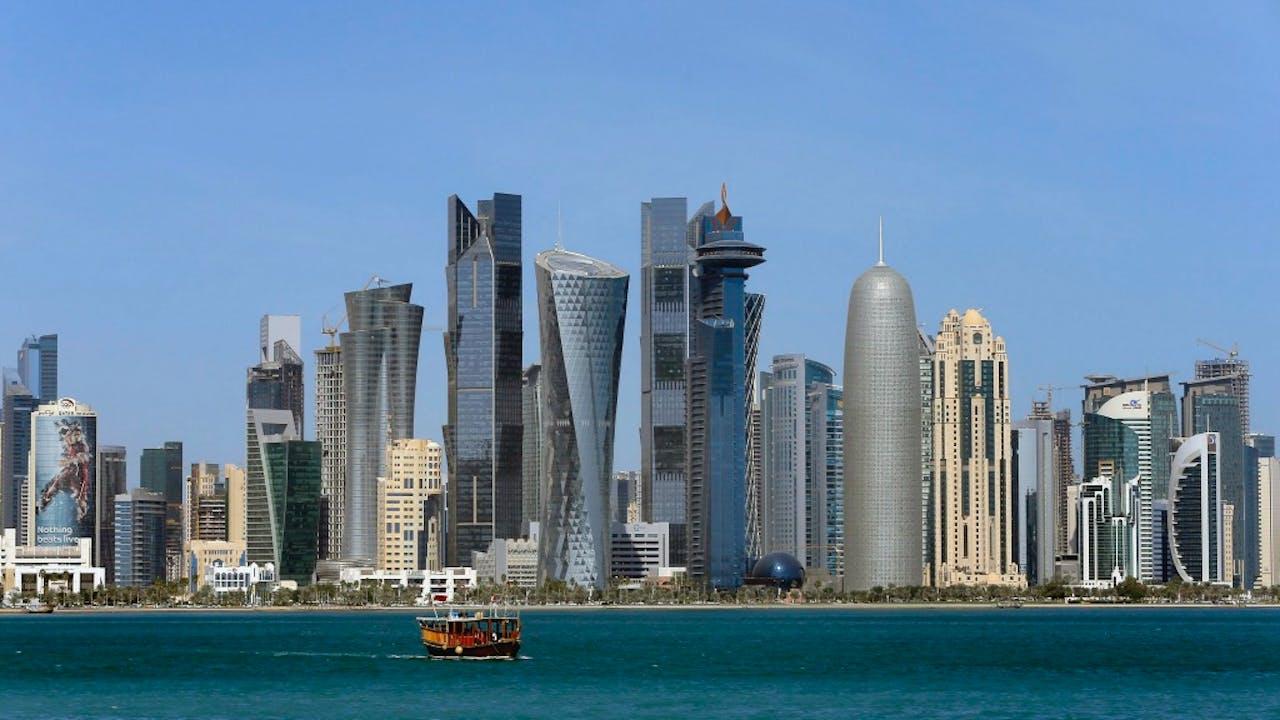 Foto: ANP - Skyline Doha, Qatar