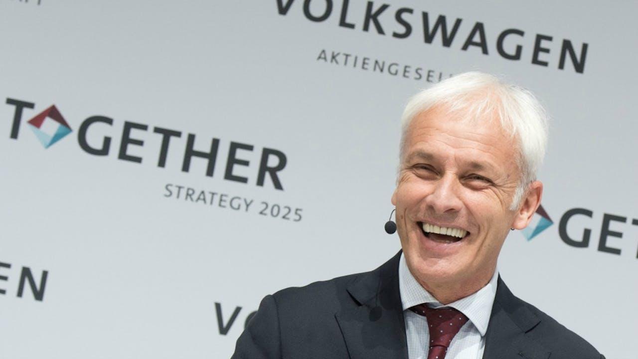 Müller hoopt het sjoemelsoftwareschandaal achter zich te laten. Foto: ANP