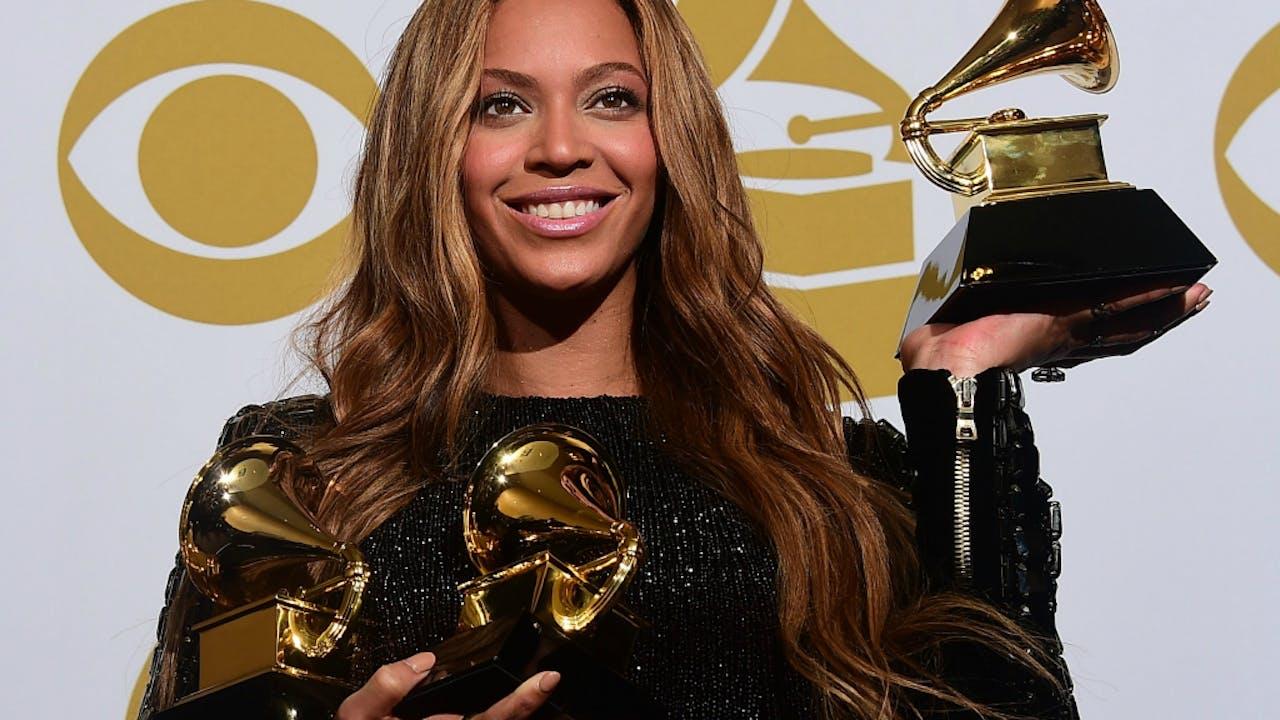 Beyoncé ging in 2015 met drie Grammy Awards naar huis.
