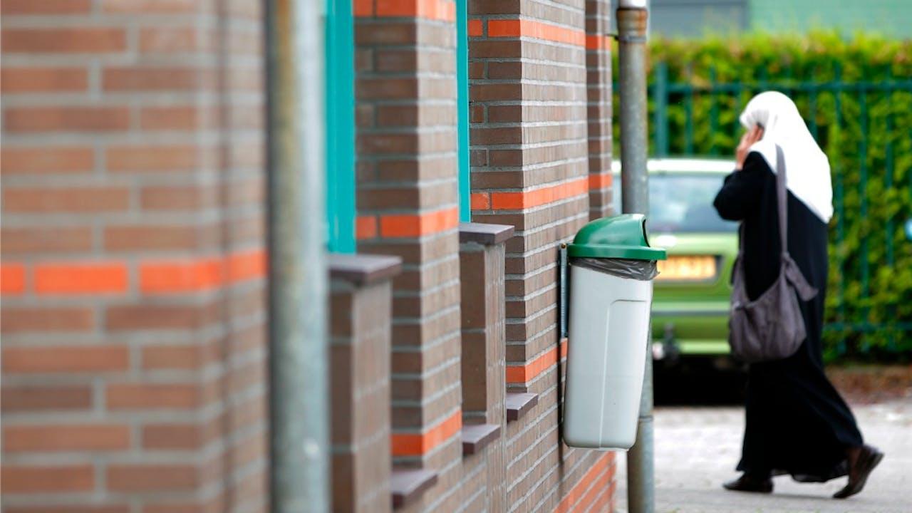 Foto: ANP - De El-Fourkaan moskee in Eindhoven
