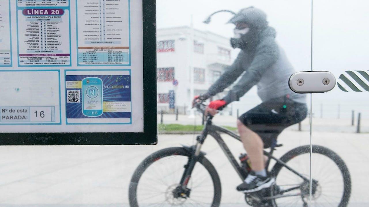Santander is erg actief op het gebied van Smart Cities Foto: ANP