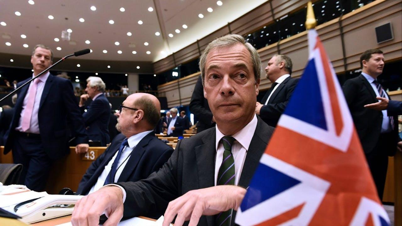 Nigel Farage. Foto ANP