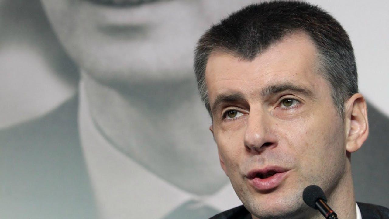Michail Prochorov. Foto ANP
