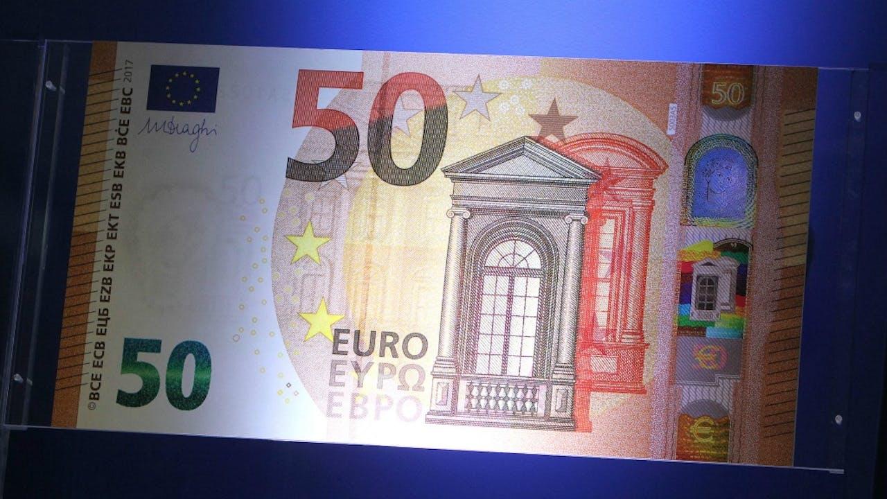 Het nieuwe briefje van 50. Foto ANP