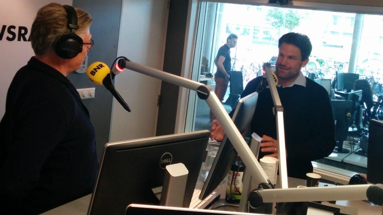 Topzeiler Simeon Tienpont (rechts). Foto BNR